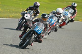 © Octane Photographic Ltd. Wirral 100, 28th April 2012. Classic bikes, 125ccGP and F125, Qualifying race. Digital ref : 0304cb1d4643