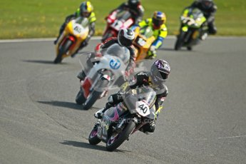 © Octane Photographic Ltd. Wirral 100, 28th April 2012. Classic bikes, 125ccGP and F125, Qualifying race. Digital ref : 0304cb1d4646