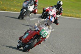 © Octane Photographic Ltd. Wirral 100, 28th April 2012. Classic bikes, 125ccGP and F125, John Foy - 247 Ariel Arrow, Qualifying race. Digital ref : 0304cb1d4651