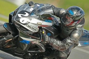 © Octane Photographic Ltd. Wirral 100, 28th April 2012. Powerbikes. Andrew Soar - 750 Suzuki. Free practice. Digital ref : 0305cb1d4271