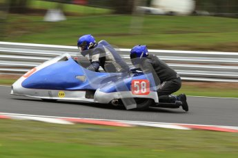 © Octane Photographic Ltd. Wirral 100, 28th April 2012. Sidecars. Qualifying race. Alan Molyneux/Andy Halewood. Digital ref : 0308cb7d9078