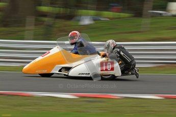 © Octane Photographic Ltd. Wirral 100, 28th April 2012. Sidecars. Qualifying race. Jim Stocks/Dave Caulfield. Digital ref : 0308cb7d9118
