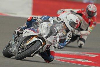 © Octane Photographic Ltd. World Superbike Championship – Silverstone, 1st Free Practice. Friday 3rd August 2012. Leon Haslam - BMW S1000 RR - BMW Motorrad Motorsport.  Digital Ref : 0443cb1d0001