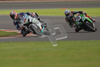 © Octane Photographic Ltd. World Superbike Championship – Silverstone, 2nd Qualifying Practice. Saturday 4th August 2012. Digital Ref : 0445cb7d1431