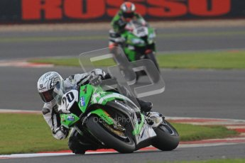 © Octane Photographic Ltd. World Superbike Championship – Silverstone, 2nd Qualifying Practice. Saturday 4th August 2012. Digital Ref : 0445cb7d1643