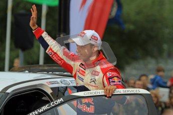 Mikko Hirvonen, Citroen DS3, Wales Rally GB 2012