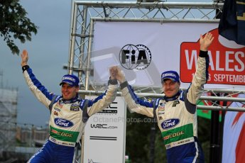 Jari-Matti Latvala and Miikka Anttila, Ford Festa WRC, Wales Rally GB 2012