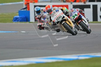 © Octane Photographic Ltd. 2012 World Superbike Championship – European GP – Donington Park. Saturday 12th May 2012. WSBK Free Practice. Jakob Smrz, Davide Giugliano and Carlos Checa. Digital Ref : 0333cb1d4091