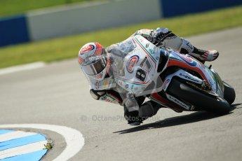 © Octane Photographic Ltd. 2012 World Superbike Championship – European GP – Donington Park. Friday 11th May 2012. WSBK Free Practice. Lorenzo Badovini - BMW S1000RR. Digital Ref : 0328cb1d2370