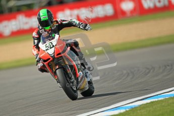 © Octane Photographic Ltd. 2012 World Superbike Championship – European GP – Donington Park. Friday 11th May 2012. WSBK Free Practice. Eugene Laverty - Aprillia RSV4 Factory. Digital Ref : 0328cb1d2529