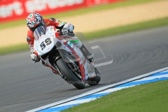 © Octane Photographic Ltd. 2012 World Superbike Championship – European GP – Donington Park. Friday 11th May 2012. WSBK Free Practice. Niccolo Canepa - Ducati 1098R. Digital Ref : 0328cb1d2609