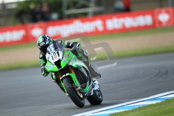 © Octane Photographic Ltd. 2012 World Superbike Championship – European GP – Donington Park. Friday 11th May 2012. WSBK Free Practice. Gary Mason - Kawasaki ZX-10R. Digital Ref : 0328cb1d2630