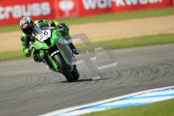© Octane Photographic Ltd. 2012 World Superbike Championship – European GP – Donington Park. Friday 11th May 2012. WSBK Free Practice. Leandro Mercado - Kawasaki ZX-10R. Digital Ref : 0328cb1d2722