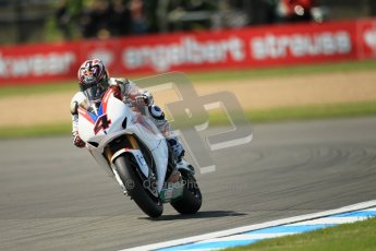 © Octane Photographic Ltd. 2012 World Superbike Championship – European GP – Donington Park. Friday 11th May 2012. WSBK Free Practice. Hiroshi Aoyama - Honda CBR1000RR. Digital Ref : 0328cb1d2744