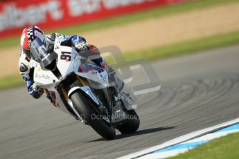 © Octane Photographic Ltd. 2012 World Superbike Championship – European GP – Donington Park. Friday 11th May 2012. WSBK Free Practice. Leon Haslam - BMW S1000RR. Digital Ref : 0328cb1d2834