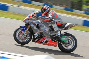 © Octane Photographic Ltd. 2012 World Superbike Championship – European GP – Donington Park. Friday 11th May 2012. WSBK Free Practice. Mark Aitchison - BMW S1000RR. Digital Ref : 0328cb7d1289