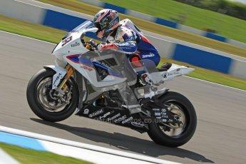 © Octane Photographic Ltd. 2012 World Superbike Championship – European GP – Donington Park. Friday 11th May 2012. WSBK Free Practice. Marco Melandri - BMW S1000RR. Digital Ref : 0328cb7d1299