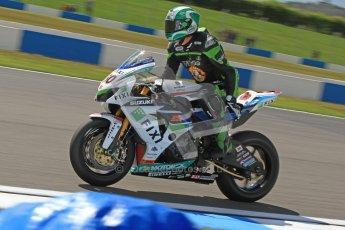 © Octane Photographic Ltd. 2012 World Superbike Championship – European GP – Donington Park. Friday 11th May 2012. WSBK Free Practice. Peter Hickman - Suzuki GSX-R1000. Digital Ref : 0328cb7d1317