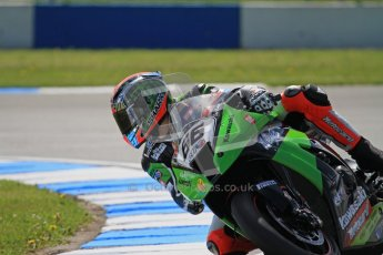 © Octane Photographic Ltd. 2012 World Superbike Championship – European GP – Donington Park. Friday 11th May 2012. WSBK Free Practice. Tom Sykes - Kawasaki ZX-10R. Digital Ref : 0328lw7d3405