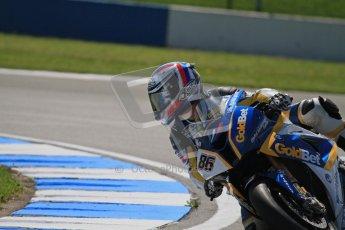 © Octane Photographic Ltd. 2012 World Superbike Championship – European GP – Donington Park. Friday 11th May 2012. WSBK Free Practice. Ayrton Bodovini - BMW S1000RR. Digital Ref : 0328lw7d3582