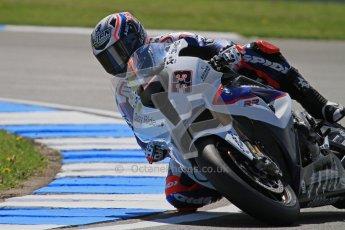 © Octane Photographic Ltd. 2012 World Superbike Championship – European GP – Donington Park. Friday 11th May 2012. WSBK Free Practice. Marco Melandri - BMW S1000RR. Digital Ref : 0328lw7d3697