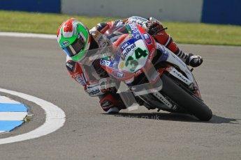 © Octane Photographic Ltd. 2012 World Superbike Championship – European GP – Donington Park. Saturday 12th May 2012. WSBK Saturday Qualifying practice. Davide Giugliano. Digital Ref : 0332lw7d5298