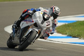 © Octane Photographic Ltd 2012. World Superbike Championship – European GP – Donington Park. Superpole session 1. 3rd Place - Marco Melandri - BMW S1000RR. Digital Ref :  0334cb1d4335
