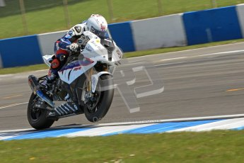 © Octane Photographic Ltd 2012. World Superbike Championship – European GP – Donington Park. Superpole session 1. 2nd Place - Leon Haslam - BMW S1000RR. Digital Ref :  0334cb7d2132