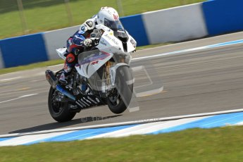 © Octane Photographic Ltd 2012. World Superbike Championship – European GP – Donington Park. Superpole session 1. 2nd Place - Leon Haslam - BMW S1000RR. Digital Ref : 0334cb7d2154