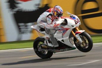 © Octane Photographic Ltd 2012. World Superbike Championship – European GP – Donington Park. Superpole session 3. Jonathan Rea. Digital Ref : 0334cb7d2231