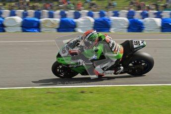 © Octane Photographic Ltd 2012. World Superbike Championship – European GP – Donington Park. Superpole session 1. Digital Ref : 0334lw7d5965