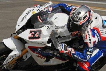 © Octane Photographic Ltd 2012. World Superbike Championship – European GP – Donington Park. Superpole session 3. 3rd Place - Marco Melandri - BMW S1000RR. Digital Ref : 0334lw7d6349a