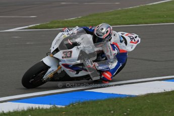 © Octane Photographic Ltd 2012. World Superbike Championship – European GP – Donington Park. Superpole session 3. 3rd Place - Marco Melandri - BMW S1000RR. Digital Ref :  0334lw7d6377