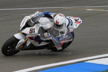 © Octane Photographic Ltd 2012. World Superbike Championship – European GP – Donington Park. Superpole session 3. 2nd Place - Leon Haslam - BMW S1000RR. Digital Ref : 0334lw7d6383