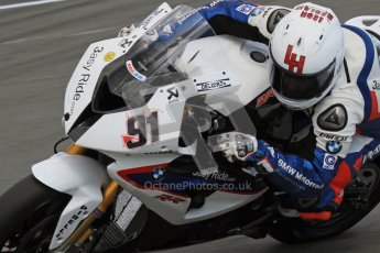 © Octane Photographic Ltd 2012. World Superbike Championship – European GP – Donington Park. Superpole session 3. 2nd Place - Leon Haslam - BMW S1000RR. Digital Ref :  0334lw7d6383a