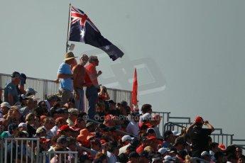 World © Octane Photographic Ltd. F1 USA GP, Austin, Texas, Circuit of the Americas (COTA), Sunday 17th November 2013 - Atmosphere. The fans on race day. Digital Ref : 0860lw1d2751