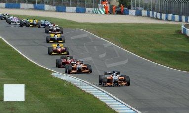 World © Octane Photographic Ltd./Carl Jones. Sunday September 1st 2013, AutoGP Race 2, Donington Park. Digital Ref : 0807cj1d1846
