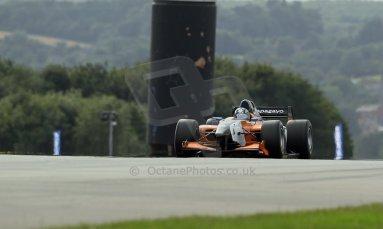 World © Octane Photographic Ltd./Carl Jones. Sunday September 1st 2013, AutoGP Race 2, Donington Park. Meindert van Buuren - Manor MP Motorsport. Digital Ref : 0807cj1d1862