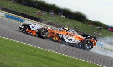 World © Octane Photographic Ltd./Carl Jones. Sunday September 1st 2013, AutoGP Race 2, Donington Park. Meindert van Buuren - Manor MP Motorsport. Digital Ref : 0807cj7d4398