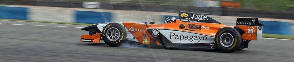 World © Octane Photographic Ltd./Carl Jones. Sunday September 1st 2013, AutoGP Race 2, Donington Park. Meindert van Buuren - Manor MP Motorsport. Digital Ref : 0807cj7d4461