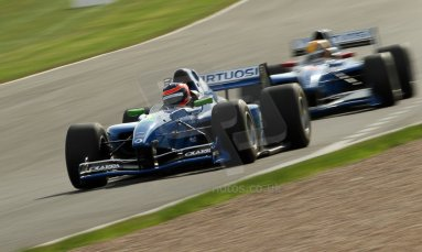 World © Octane Photographic Ltd./Carl Jones. Sunday September 1st 2013, AutoGP Race 1, Donington Park. Andrea Roda – Virtuosi UK. Digital Ref : 0804cj1d1377