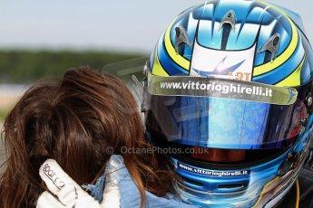 World © Octane Photographic Ltd./Carl Jones. Sunday September 1st 2013, AutoGP Race 1, Donington Park - Vittorio Ghirelli - Super Nova. Digital Ref : 0804cj7d3907