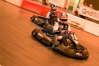 ©  Octane Photographic Ltd. January 11th 2013. Autosport International. Autosport International Karting Challenge in aid of The Alzheimer's Society. Kieran Vernon. Digiatal Ref :