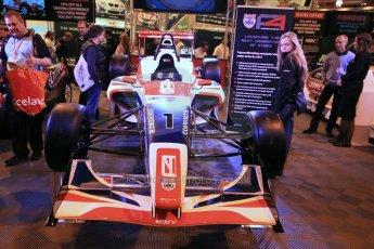 World ©  Octane Photographic Ltd. January 11th 2013. Autosport International. BRDC Formula 4 (F4). The new F4 car, the MSV F4-013. Digital Ref : 0566lw1d5833