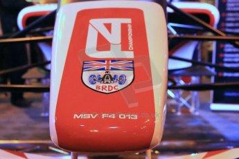 World ©  Octane Photographic Ltd. January 11th 2013. Autosport International. BRDC Formula 4 (F4). The new F4 car, the MSV F4-013. Digital Ref : 0566lw1d5835