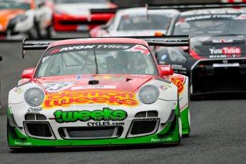World © Octane Photographic Ltd. Avon Tyres British GT Championship. Monday 1st April 2013 Oulton Park – Race 1. Porsche 997 GT3-R – Trackspeed – Phil Keen, Jon Minshaw. Digital Ref : 0623ce1d8670