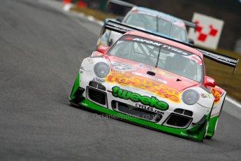 World © Octane Photographic Ltd. Avon Tyres British GT Championship. Monday 1st April 2013 Oulton Park – Race 1. Porsche 997 GT3-R – Trackspeed – Phil Keen, Jon Minshaw. Digital Ref : 0623ce1d8813