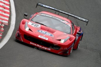 World © Octane Photographic Ltd. Avon Tyres British GT Championship. Monday 1st April 2013 Oulton Park – Race 1. Ferrari 458 Italia, FF Corse – Rob Barff, Gary Eastwood. Digital Ref : 0623ce1d8909