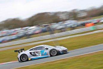World © Octane Photographic Ltd. Avon Tyres British GT Championship. Monday 1st April 2013 Oulton Park – Race 2. McLaren MP4-12C GT3 – Preci-Spark Engineering – David Jones, Godfrey Jones. Digital Ref : 0625ce1d9789