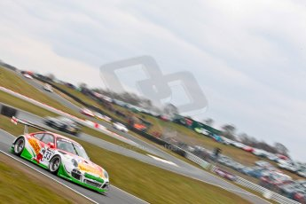 World © Octane Photographic Ltd. Avon Tyres British GT Championship. Monday 1st April 2013 Oulton Park – Race 2. Porsche 997 GT3-R – Trackspeed – Phil Keen, Jon Minshaw. Digital Ref : 0625ce1d9921